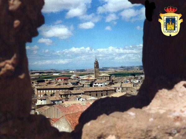 Sádaba desde el castillo , creada por JManuel el 25/04/2009