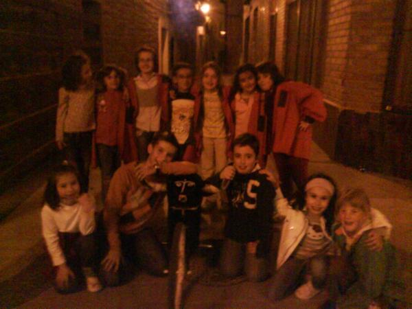 Niños de Sadaba en fiestas Mayo 09 , creada por pili el 05/05/2009