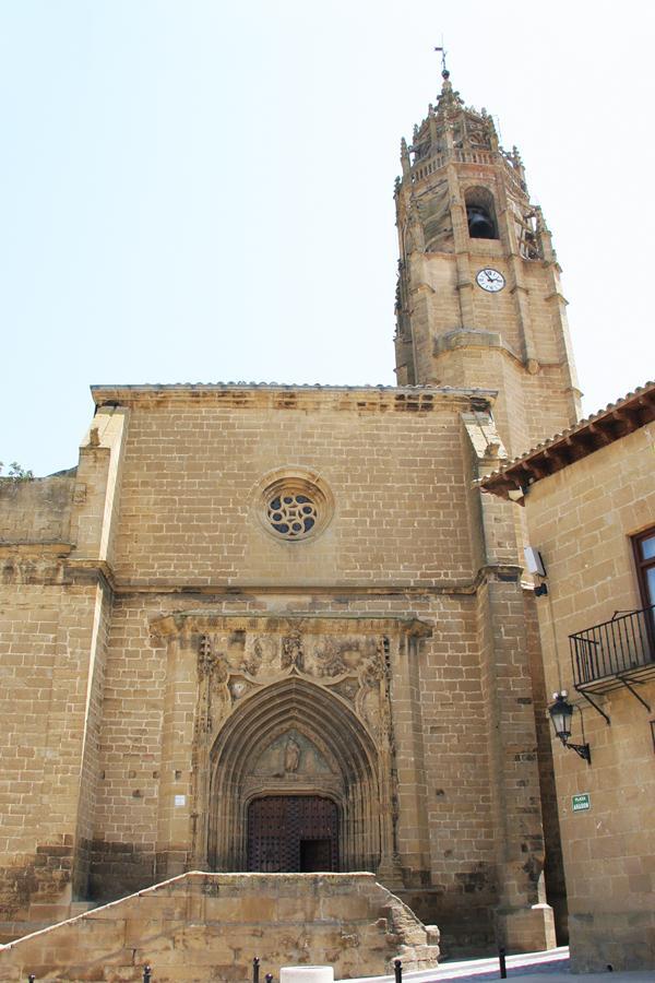 Vista general del acceso de la iglesia Iglesia de Santa Maria , creada por Juan Carlos Iguaz Esteban el 29/07/2011