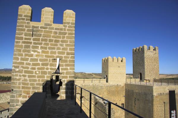 Vista de las torres desde la muralla , creada por Juan Carlos Iguaz Esteban el 29/07/2011