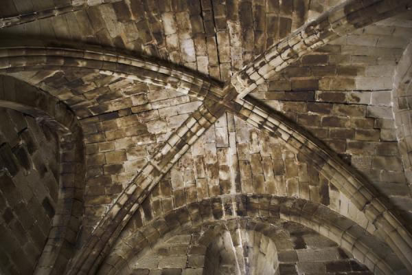 Detalle de la techumbre de la capilla del castillo Capilla del castillo , creada por Juan Carlos Iguaz Esteban el 02/08/2011